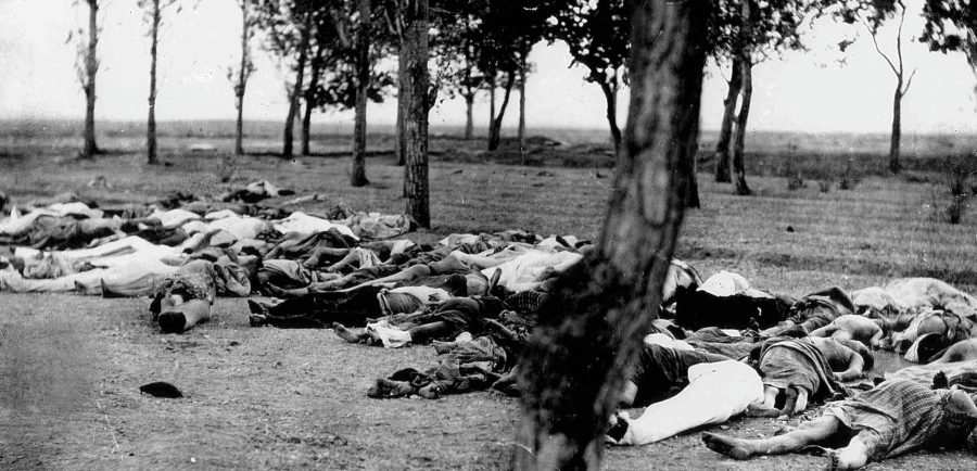 Armenians killed by Turks.